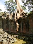 Asisbiz Preah Khan 12th century Khmer Style Eastern Gopura Angkor Thom 15