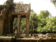 Asisbiz Preah Khan 12th century Khmer Style Northern Gopura Angkor Thom 03