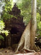 Asisbiz Preah Khan 12th century Khmer Style Southern Gopura Angkor Thom 02