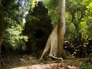Asisbiz Preah Khan 12th century Khmer Style Southern Gopura Angkor Thom 03
