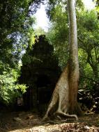 Asisbiz Preah Khan 12th century Khmer Style Southern Gopura Angkor Thom 04