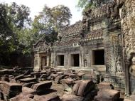Asisbiz Preah Khan 12th century Khmer Style Western Gopura Angkor Thom 01