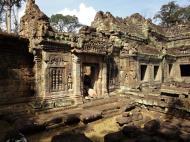 Asisbiz Preah Khan 12th century Khmer Style Western Gopura Angkor Thom 04