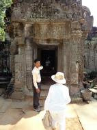 Asisbiz Preah Khan Temple 12th century Khmer Style passageways 04