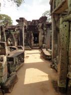 Asisbiz Preah Khan Temple 12th century Khmer Style passageways 05
