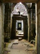 Asisbiz Preah Khan Temple 12th century Khmer Style passageways 09