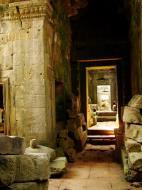 Asisbiz Preah Khan Temple 12th century Khmer Style passageways 18