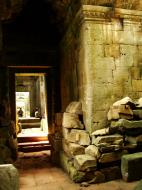 Asisbiz Preah Khan Temple 12th century Khmer Style passageways 19