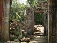 Asisbiz Preah Khan Temple 12th century Khmer Style passageways 24