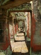 Asisbiz Preah Khan Temple 12th century Khmer Style passageways 28
