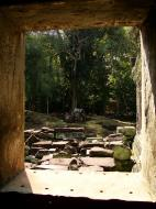 Asisbiz Preah Khan Temple 12th century Khmer Style windows 05