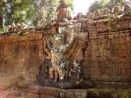 Asisbiz Preah Khan Temple 4th wall enclosure 5m Garuda holding Nagas 01
