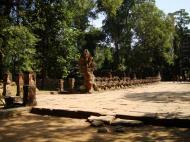 Asisbiz Preah Khan Temple Asura west naga bridge Angkor Thom 01