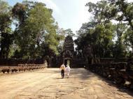 Asisbiz Preah Khan Temple Asura west naga bridge Angkor Thom 02