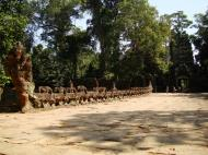 Asisbiz Preah Khan Temple Asura west naga bridge Angkor Thom 03