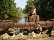 Asisbiz Preah Khan Temple Asura west naga bridge Angkor Thom 04