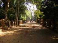 Asisbiz Preah Khan Temple boundarary stones along the western approach 01