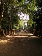 Asisbiz Preah Khan Temple boundarary stones along the western approach 02