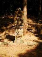 Asisbiz Preah Khan Temple boundarary stones along the western approach 03