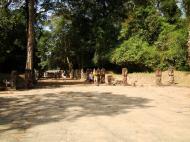 Asisbiz Preah Khan Temple boundarary stones along the western approach 04