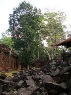 Asisbiz Preah Khan Temple collapsed masonary Preah Vihear province 03