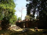 Asisbiz Preah Khan Temple inner laterite walls Preah Vihear province 02