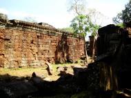 Asisbiz Preah Khan Temple inner laterite walls Preah Vihear province 03