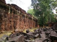 Asisbiz Preah Khan Temple inner laterite walls Preah Vihear province 04