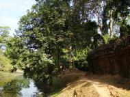 Asisbiz Preah Khan Temple moat west naga bridge Angkor Thom 03