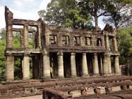 Asisbiz Preah Khan Temple two story victory hall Preah Vihear province 01