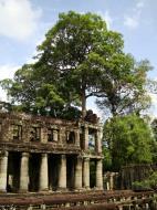 Asisbiz Preah Khan Temple two story victory hall Preah Vihear province 03
