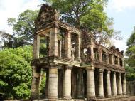 Asisbiz Preah Khan Temple two story victory hall Preah Vihear province 04