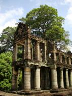 Asisbiz Preah Khan Temple two story victory hall Preah Vihear province 05