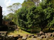 Asisbiz Preah Khan Temple two story victory hall pond Preah Vihear province 01