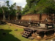 Asisbiz Preah Khan Temple two story victory hall terrace Preah Vihear province 01