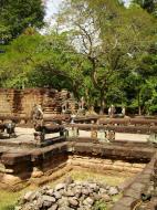 Asisbiz Preah Khan Temple two story victory hall terrace Preah Vihear province 02