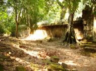 Asisbiz Preah Khan Temple west Gopuram entry tower naga bridge Angkor Thom 04