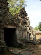 Asisbiz Preah Khan Temple west Gopuram entry tower naga bridge Angkor Thom 10