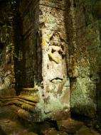 Asisbiz Preah Khan Temple west Gopuram entry tower naga bridge Angkor Thom 17