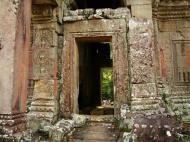 Asisbiz Preah Khan Temple west Gopuram entry tower naga bridge Angkor Thom 21