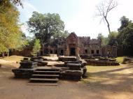 Asisbiz Preah Khan West entrance gopura headless guardians Angkor Thom 01