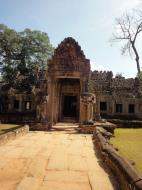 Asisbiz Preah Khan West entrance gopura headless guardians Angkor Thom 03