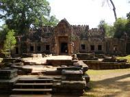 Asisbiz Preah Khan West entrance gopura headless guardians Angkor Thom 04