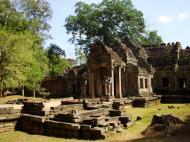 Asisbiz Preah Khan West entrance gopura headless guardians Angkor Thom 06