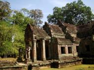 Asisbiz Preah Khan West entrance gopura headless guardians Angkor Thom 08