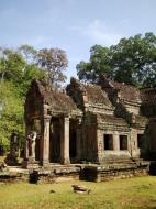 Asisbiz Preah Khan West entrance gopura headless guardians Angkor Thom 09