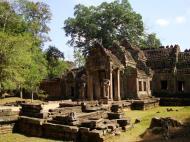 Asisbiz Preah Khan West entrance gopura to Vishnu temple Angkor Thom 01
