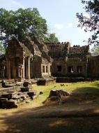 Asisbiz Preah Khan West entrance gopura to Vishnu temple Angkor Thom 03