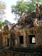 Asisbiz Preah Khan West entrance gopura to Vishnu temple Angkor Thom 07
