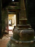Asisbiz Preah Khan sanctuary headless Buddha and stupa Preah Vihear province 01